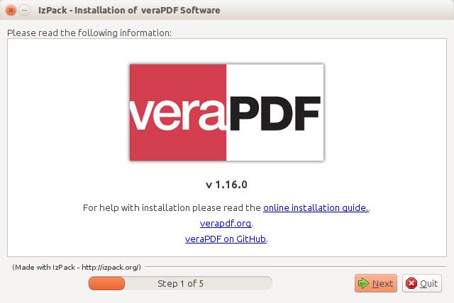 veraPDF Docs | Installing veraPDF
